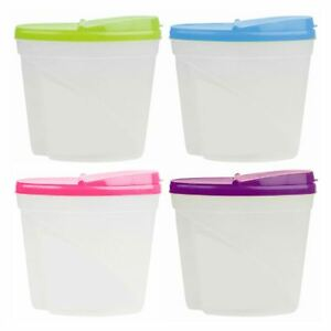 Large 35L Dry Food Storage Container Plastic Box Cereal Dispenser