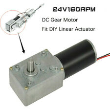 Dc Gear Motor 24v 160rpm With Electric Gearbox Reducer High Torque For Diy