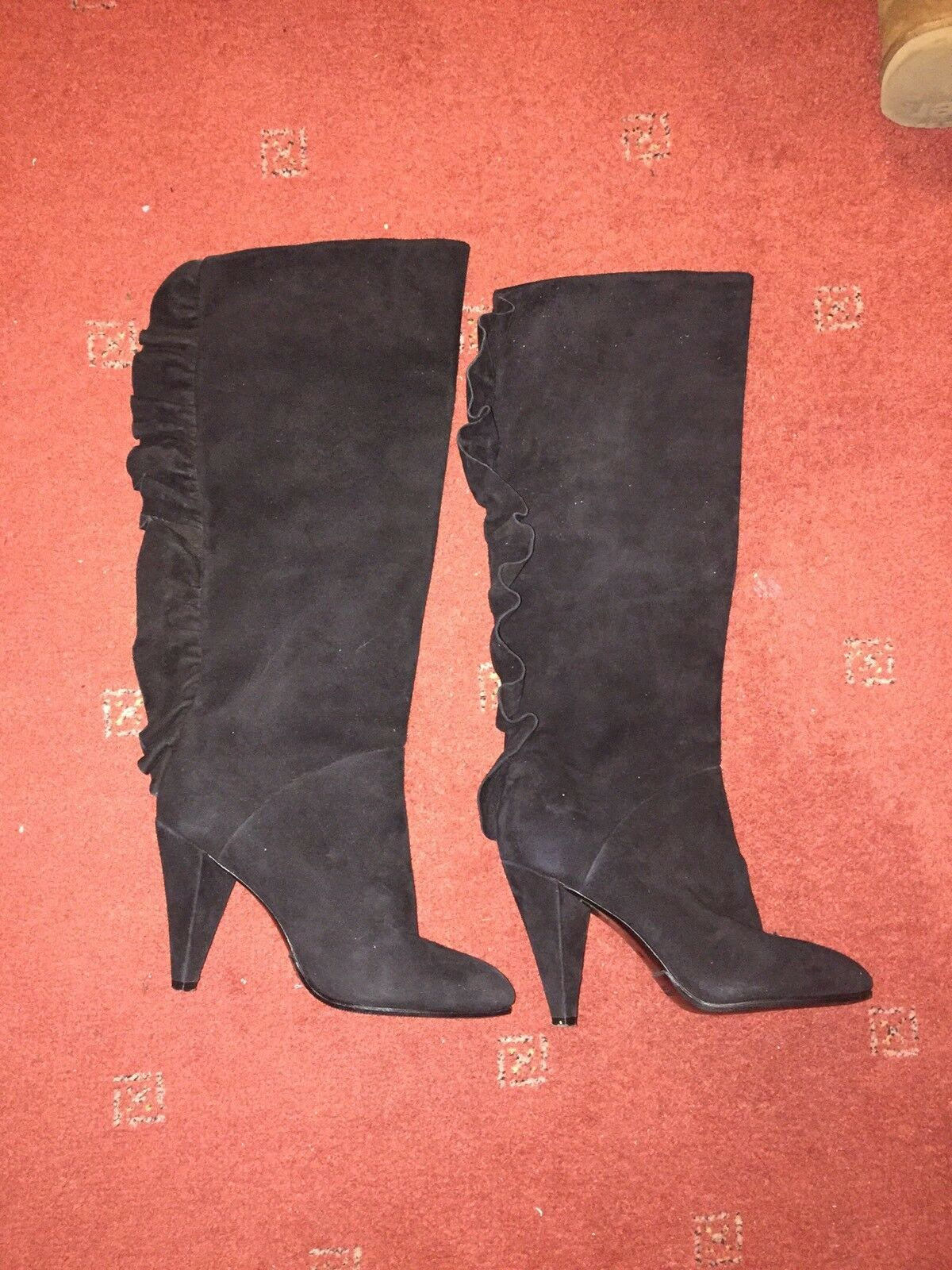 Stunning MARC by MARC JACOBS Black Suede Boots UK 4 EU 36