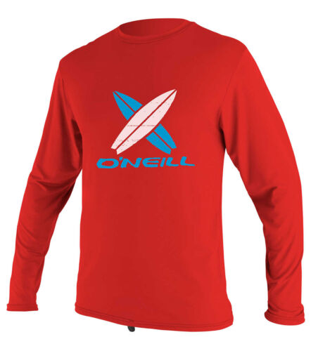 O'Neill Boys Toddlers LS Rash Tee 2018 Red