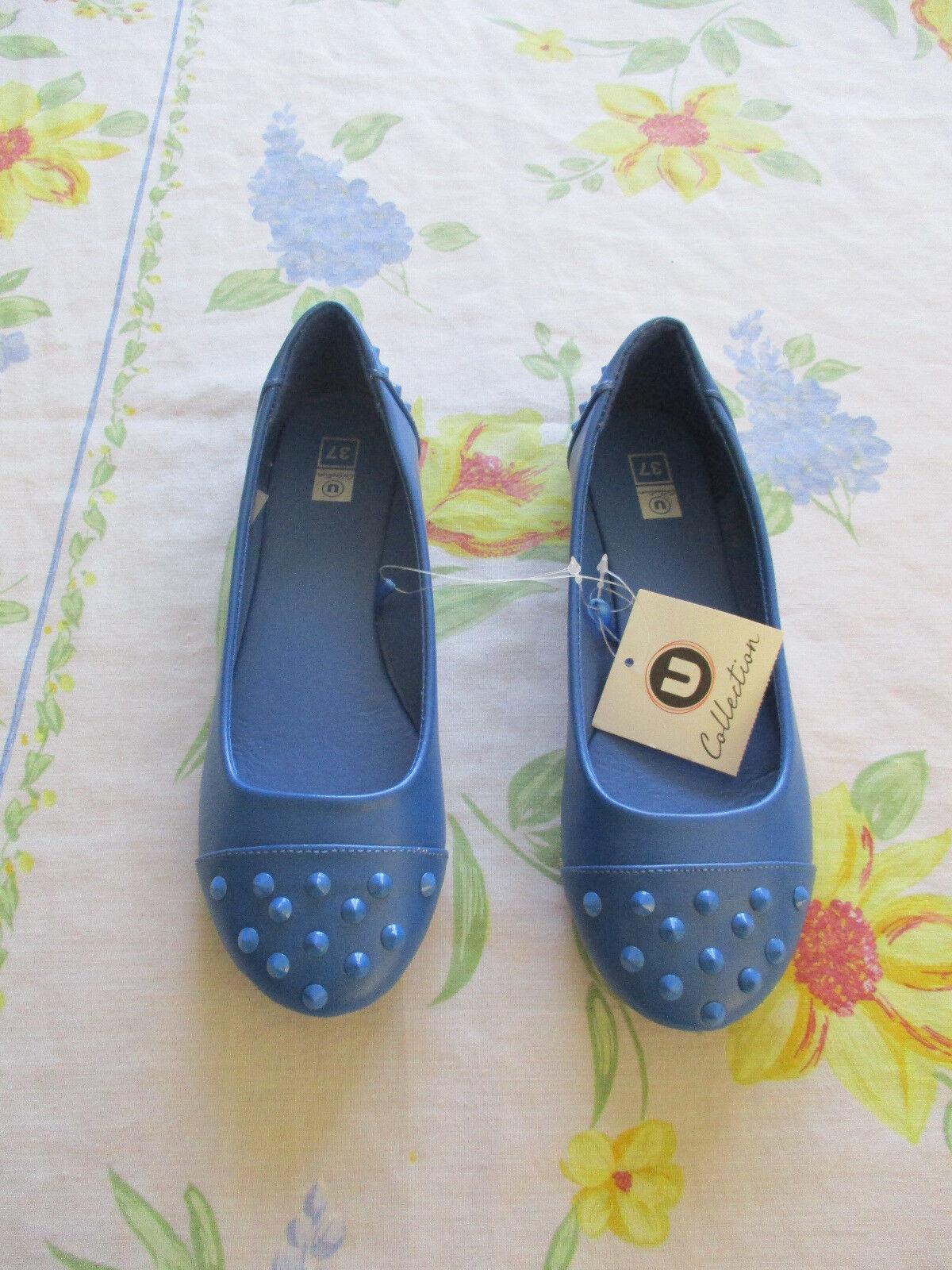 ballerine Bleu Pointure 37 avec Marque U Collection Femme neuf avec 37 étiquette bdc150