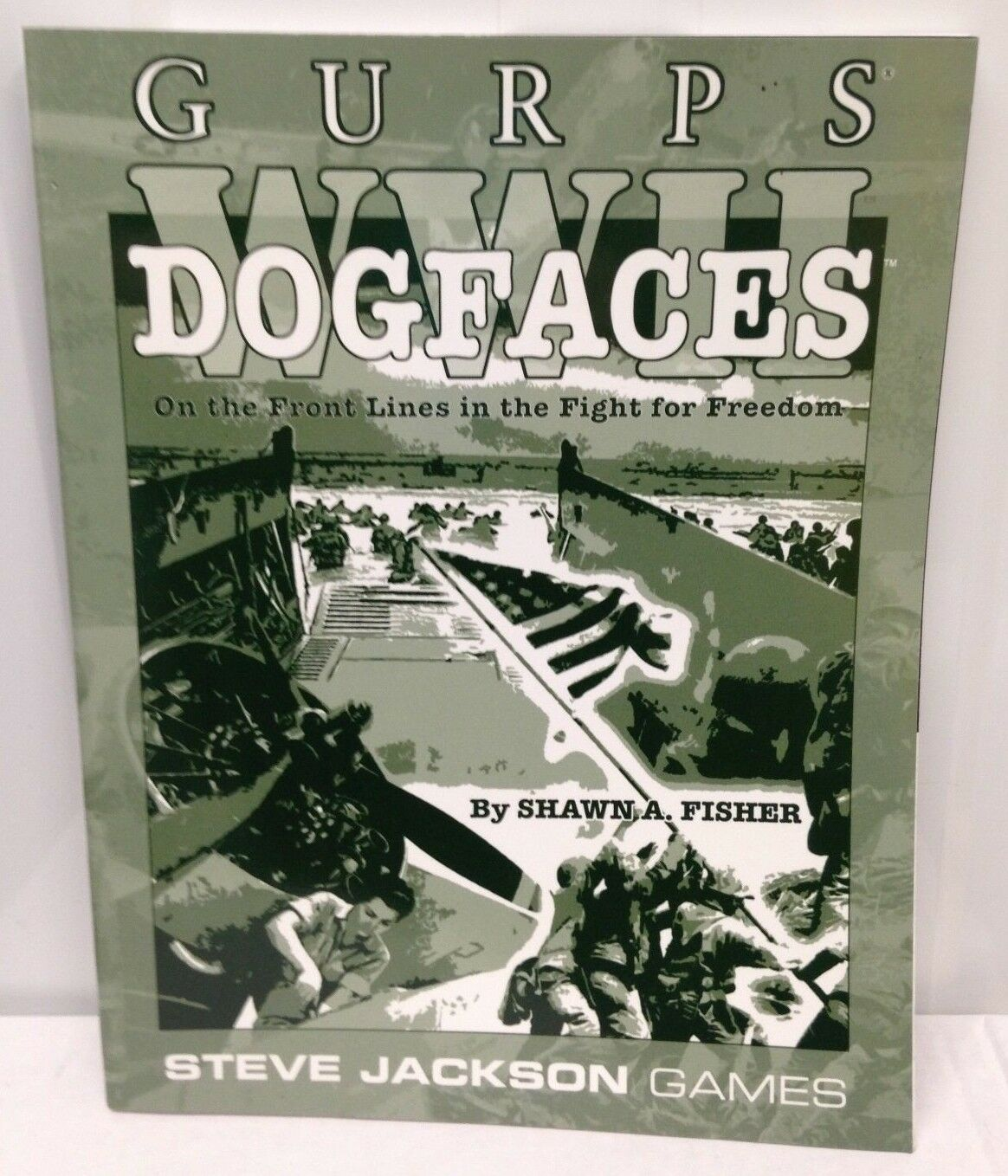 GURPS - WWII Dog Faces - New