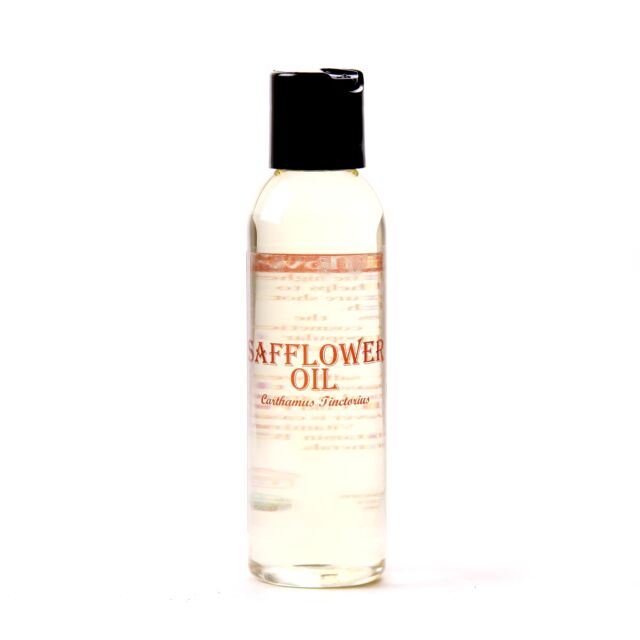 Mystic Moments Safflower Carrier Oil - 100% Pure - 125ml (OV100SAFF)