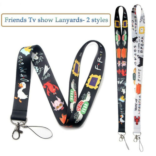 TV Show Friends Phone Lanyard For Keys Phone Rope Keychanis Keyring Neck Straps