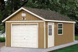 12 x 20 Garage Plans Shed  Building Blueprints, Design #51220