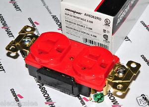 1pcs-COOPER-AH5362RD-20A-125V-Premium-Industrial-Grade-Duplex-Receptacle-5-20R