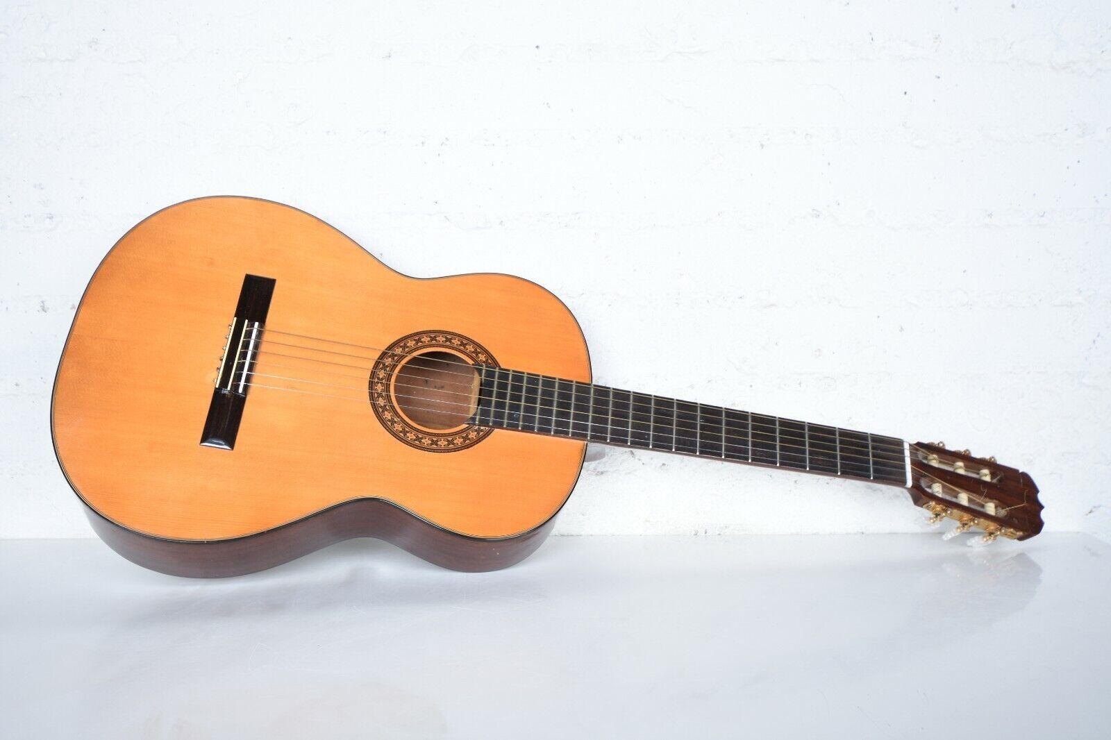 Classic M. Hohner 1970's Vintage 6 String Acoustic Guitar HG-19 Japan