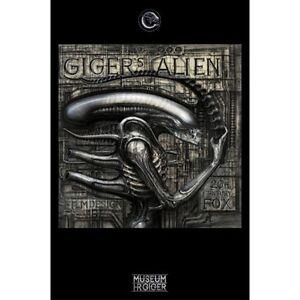H-R-GIGER-039-S-ALIEN-91-x-61-MM-36-x-24-034-ART-POSTER-x