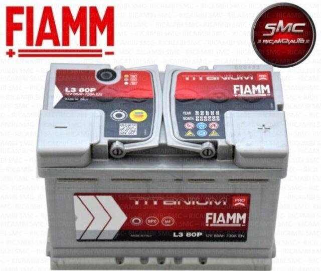 Autobatterie FIAMM TITANIUM PRO 12V 100Ah 870A//EN TOP ANGEBOT SOFORT /& NEU