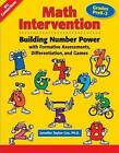 Math Intervention P-2: Building Number Power with Formative Assessments, Differentiation, and Games, Grades Pre K-2 by Jennifer Taylor-Cox (Paperback, 2009)