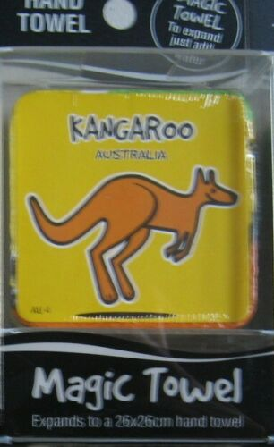 SOUVENIR TOWEL FACE WASHER COTTON CLOTH KANGAROO KOALA FLAG KOOKA THONGS AUSSIE