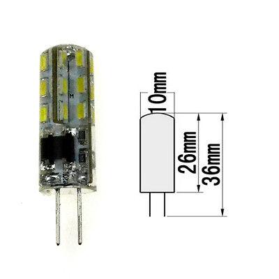 1X/10X 3W 5W G4 Led Bulbs Replace Halogen Bulb 3014 SMD Light Lamps DC12V/AC220V
