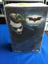 Hot Toys MMS 68 Batman Dark Knight TDK Joker Heath Ledger 12 inch Figure NEW