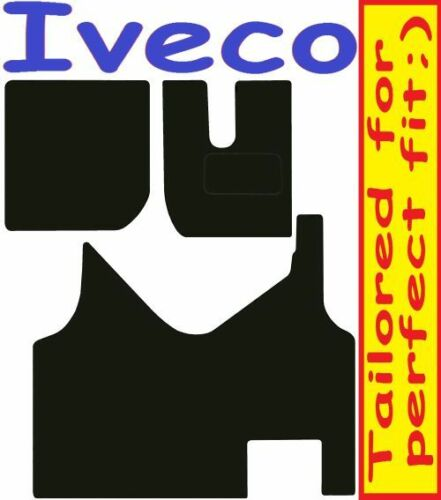 IVECO STRALIS CAMION Deluxe Su Misura Qualità Tappetini Auto 2014-2017 AUTO