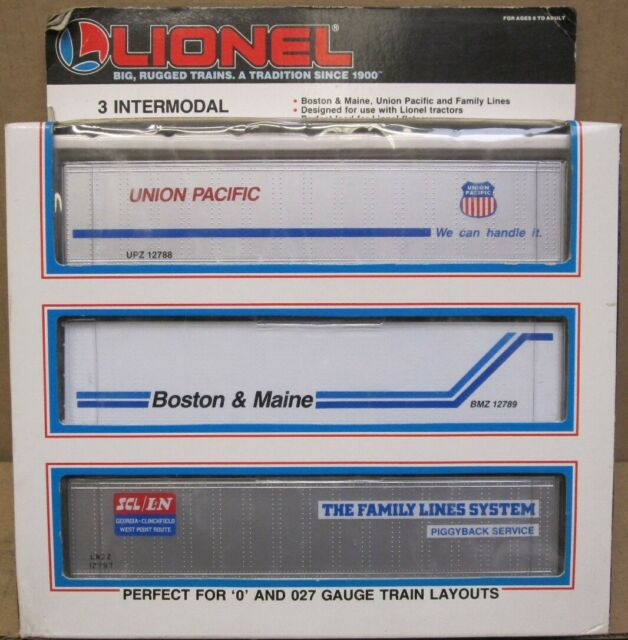 Lionel 6-12784 Set of 3 Intermodal Containers OB
