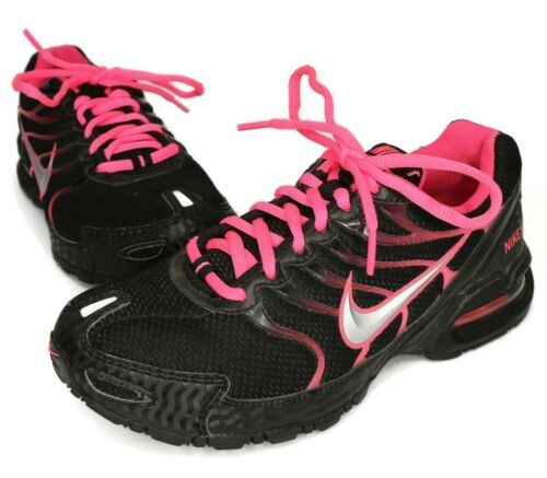 Nike WOMEN'S Black & Pink Max Air Torch 4 Running