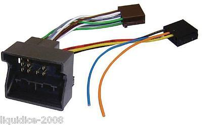 FAKRA ISO Plomo Stereo Unidad Principal Adaptador Ct20pe02 Peugeot 207 2004 /> Quadlock