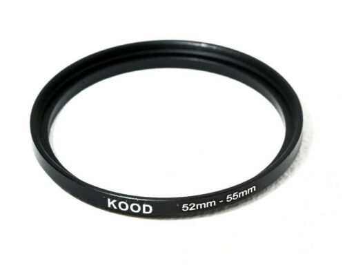 Stepping Ring 52-55mm 52mm to 55mm Step Up Ring Stepping Rings 52mm-55mm