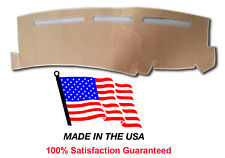 2001-2006 Chevy Silverado 1500 Beige Carpet Dash Cover Mat CH77-8 Made in USA