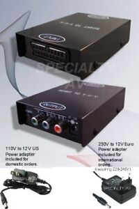 NEW-SCART-RGB-to-YUV-Component-Video-Converter-Scaler