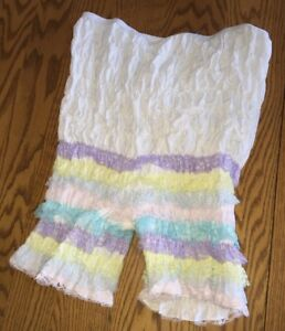 Vintage-MALCO-MODES-Partners-Please-BLOOMERS-Ruffled-Sissy-Pettipant-PANT-L