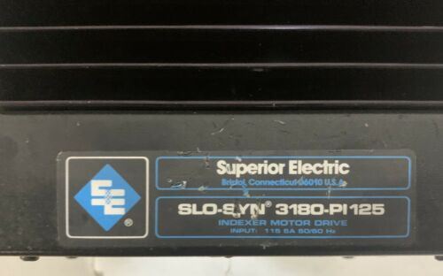 Details about  /Superior Electric 3180-PI 125 SLO-SYN NO BOX