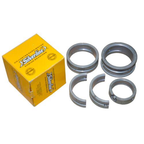"VW Silver Line Main Bearings /""Steel Backed/"" Thrust 2mm .020 Case// .020 Crank"