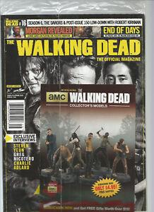 The Walking Dead Officiel Revue #16 Ressort 2016 W / Gratuit COLLECTOR'S Livret