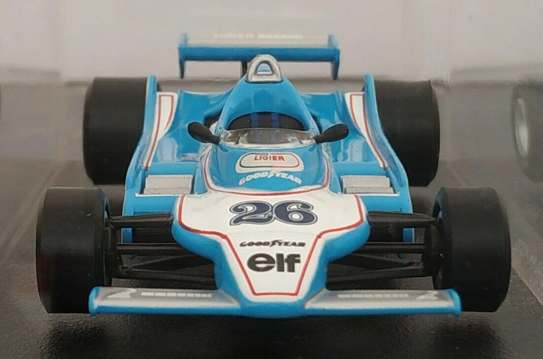 1   43 ligier js 11 js11 1979 fórmula fórmula fórmula F1 aleación metálica a escala 433