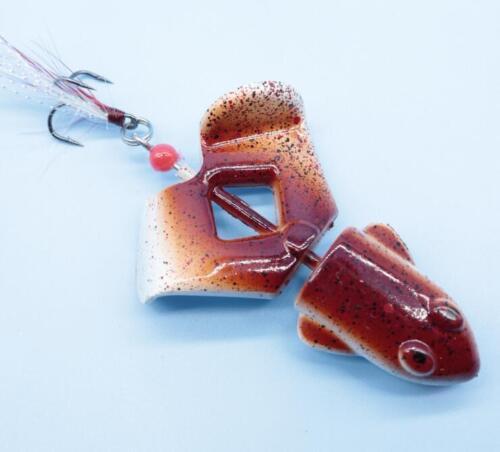 5PCS Frog Crankbait Fishing Lures Hard Plastic Baits TopWater 12g Carp Pike
