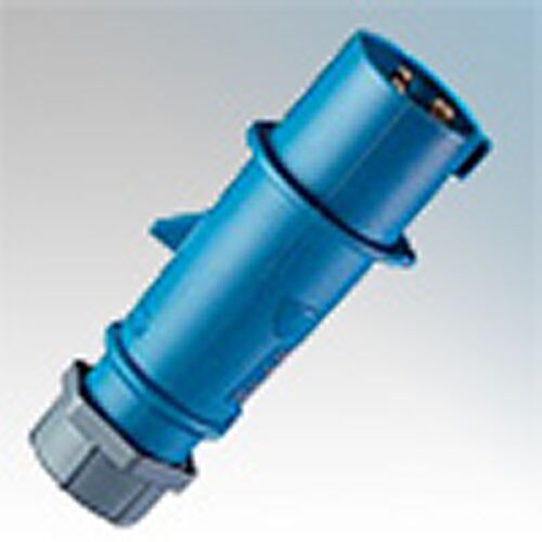 Mennekes bleu 16A 250 V IP44 Rated plug typ 248 weatherproof 2p une pièce design