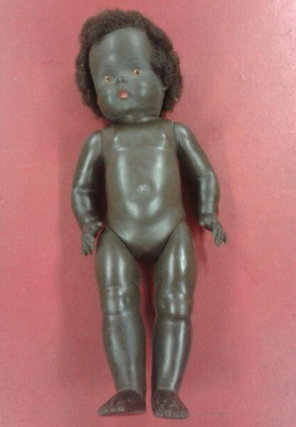 Acheter Pas Cher Vintage Collection Ethnique Noir Pour Bébé Poupée Avec Cheveux