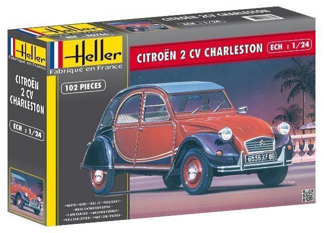Oldtimer 1 24   Citroen 2cv Charleston (Heller 80766)