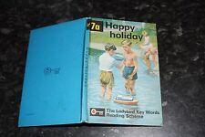 Ladybird Key Words  Reading Scheme Peter & Jane 7a happy Holiday 2'6 net