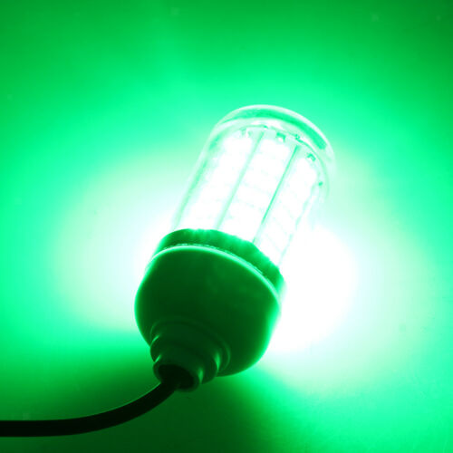 Green Light Attracting Fish Underwater LED Night Luring Lamps for Boat Yacht