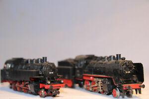 24-2-Dampfloks-BR-24-24-058-und-BR-86-86-132-der-DR-von-Maerklin-in-H0