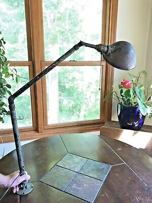 Vintage Hubbell Lamp Industrial Shop