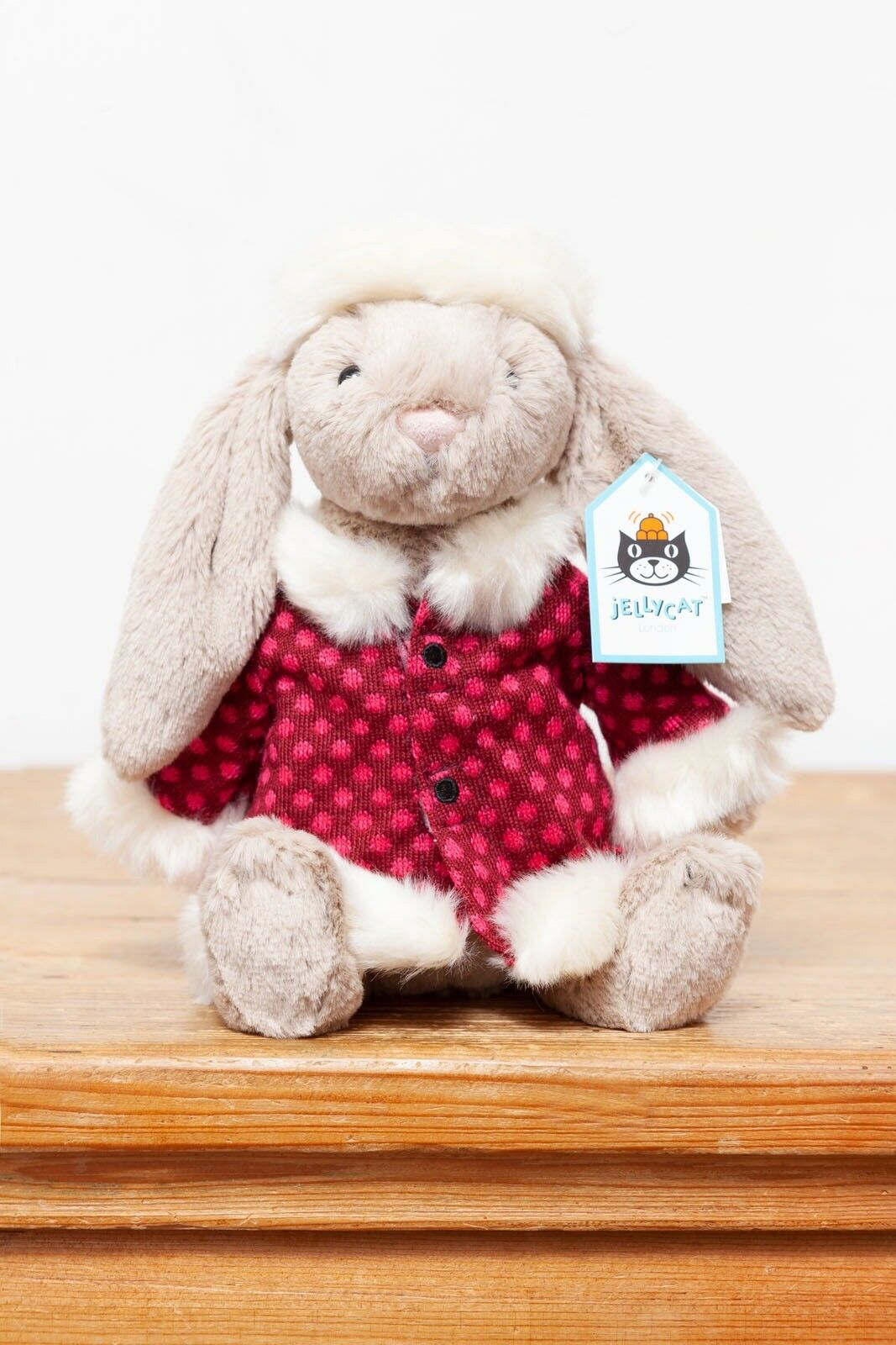 Jellycat Betsy Winter Wonderland Bashful Bunny Rabbit