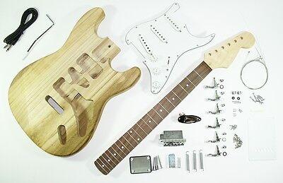 kompletter Bausatz für eine E-Gitarre ST