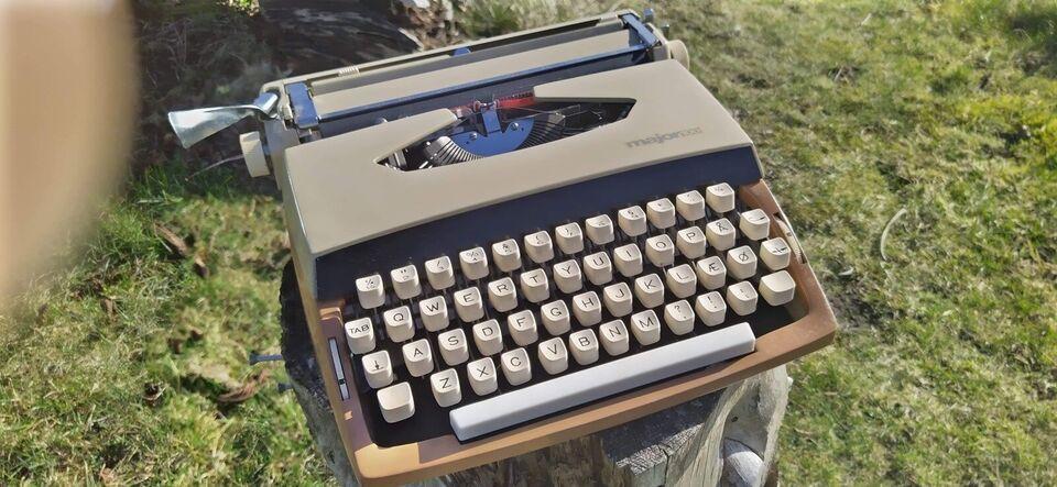 Major 100 skrivemaskine