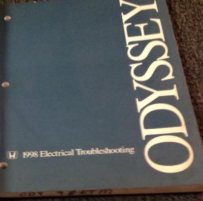 1998 Honda Odyssey Electrical Troubleshooting Wiring Diagram Manual Oem Etm Ebay