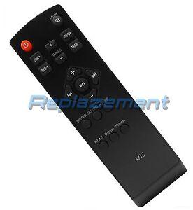 Image Is Loading Vizio Sound Bar Remote Control For Sb4020m B0
