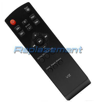 Vizio Sound Bar Remote Control for SB4020M-B0 VSB206-B VSB-207