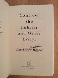 Considera l'aragosta (Consider the Lobster: And Other Essays) by David ...