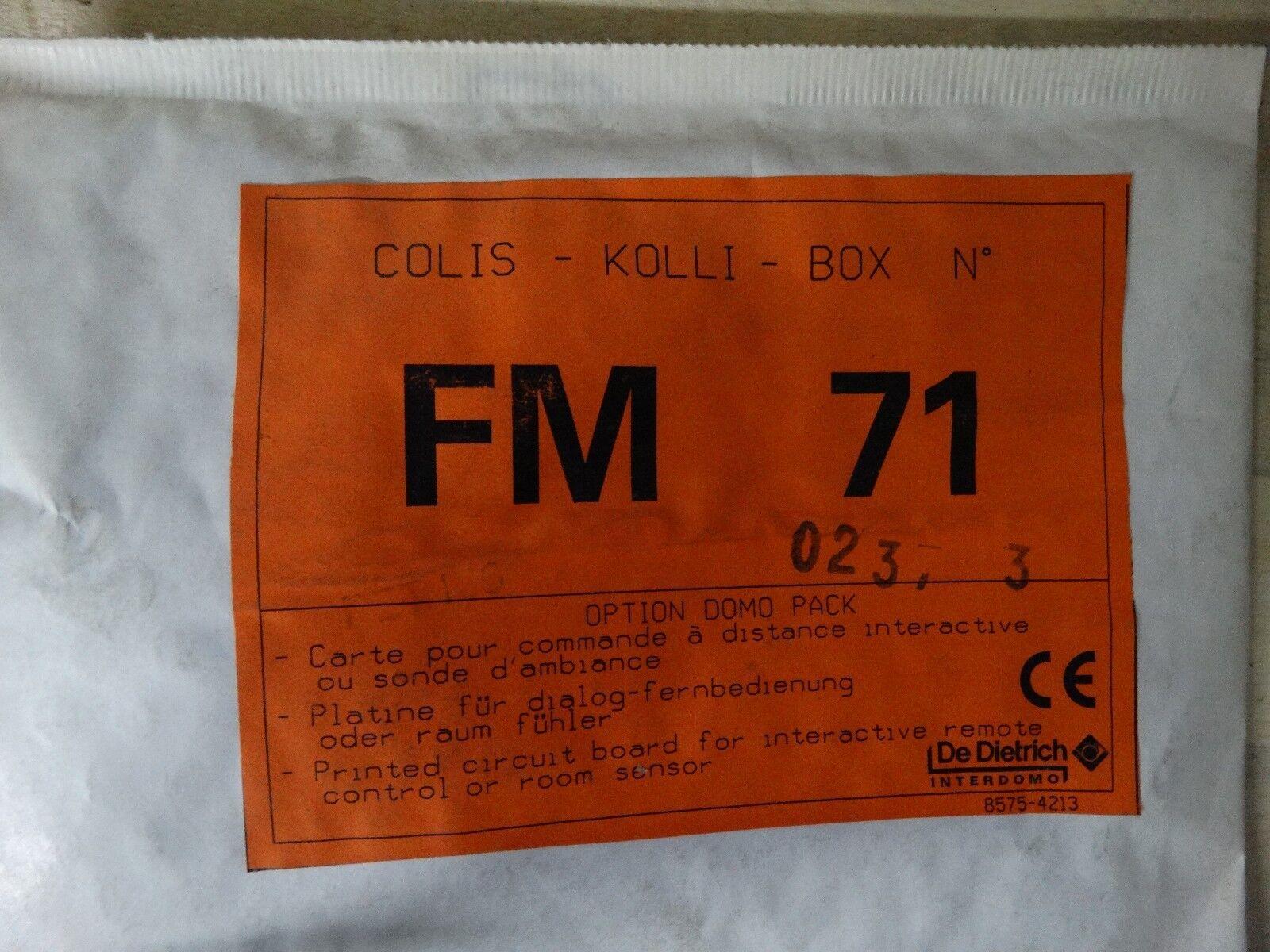 DeDietrich Interdomo De Dietrich FM 71 Kolli für Domolight Zusatz Platine