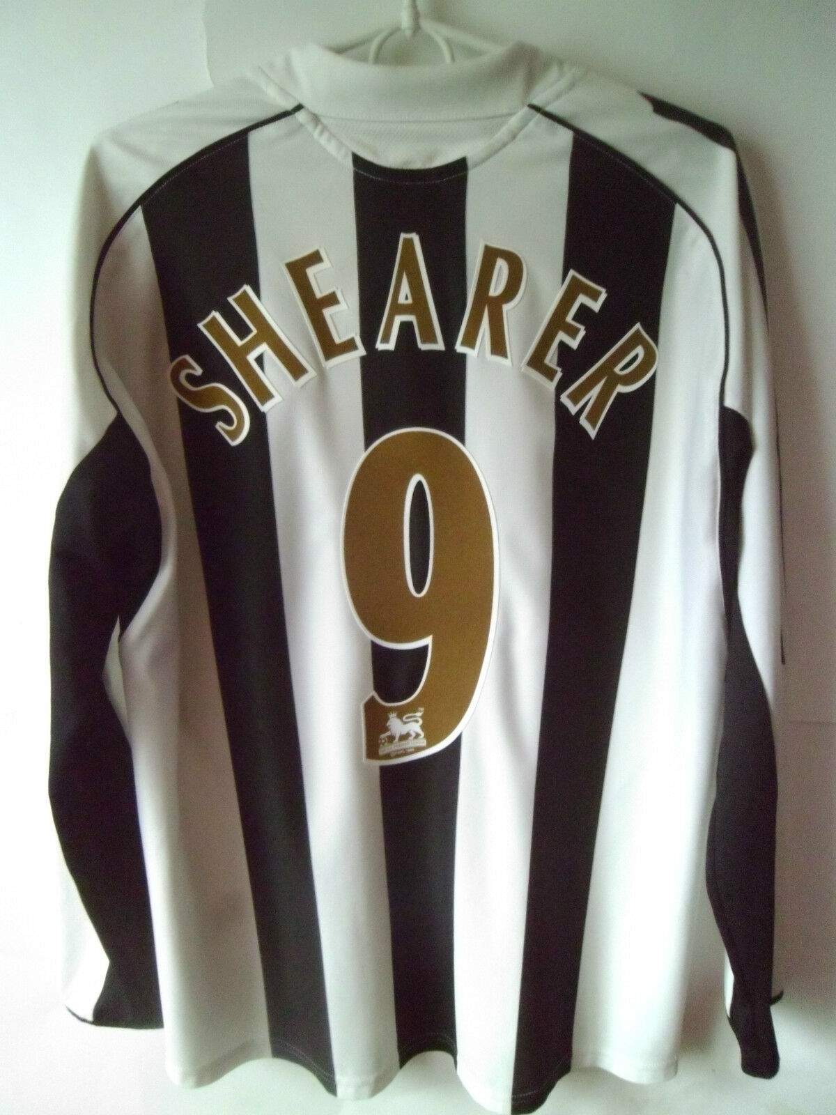VERY RARE    SHEARER     2005-07 Newcastle Home Shirt Jersey Trikot M