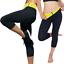 Damen-Neoprene-Slim-Fit-Hosen-Thermo-Sporthose-Schwitzhose-Yoga-Fitness-Gym-Wear