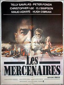 Affiche-LES-MERCENAIRES-Killer-Force-FONDA-Val-Guest-TELLY-SAVALAS-60x80cm-1976