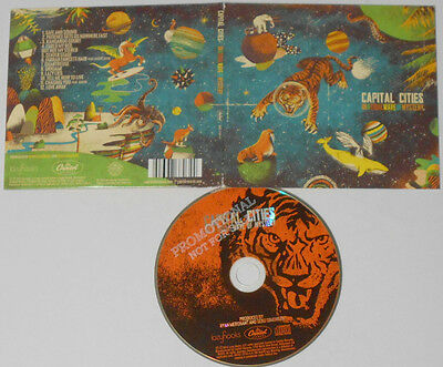Capital Cities - In A Tidal Wave Of Mystery - U.S. CD ...
