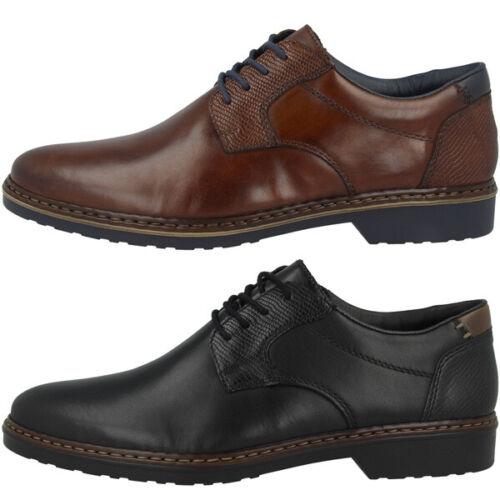 Rieker 16541 Men Costume Chaussures Lacets Hommes Business en Cuir Chaussure Lacée